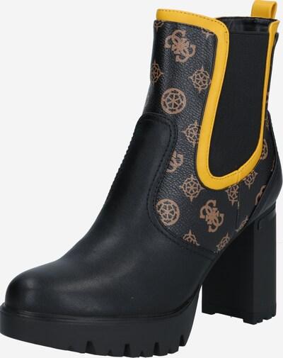 Chelsea batai 'Sabina' iš GUESS , spalva - ruda / geltona / juoda, Prekių apžvalga