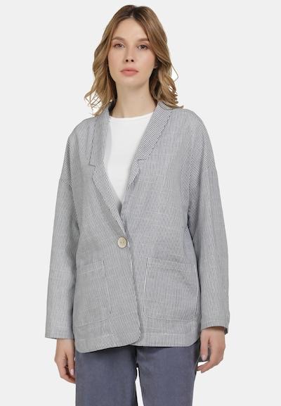 Usha Blazer in grau / weiß, Modelansicht