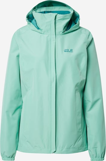 JACK WOLFSKIN Funktionsjacke 'Stormy  Point' in mint, Produktansicht