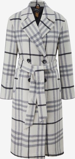 COMMA Between-Seasons Coat in Light grey / Black / White, Item view