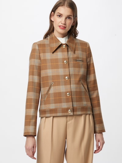MOS MOSH Kavaj 'Tally Care' i brun / ljusbrun, På modell