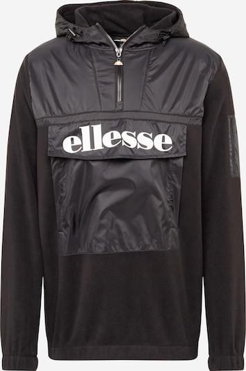 ELLESSE Tussenjas 'GAZZO' in de kleur Zwart / Wit, Productweergave