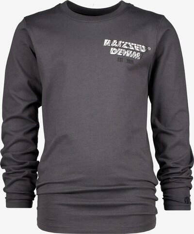 Raizzed Sweatshirt 'JUPITER' in dunkelgrau / weiß, Produktansicht