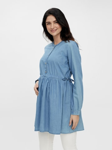 MAMALICIOUS Umstandstunika 'TINA' in Blau