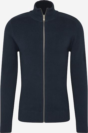 JACK & JONES Gebreid vest 'BLANC' in de kleur Navy, Productweergave