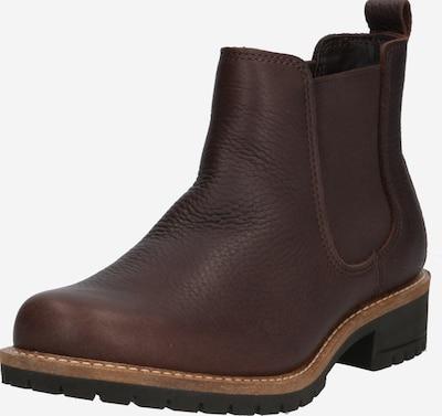 ECCO Chelsea boots 'Elaine' i mörkbrun, Produktvy