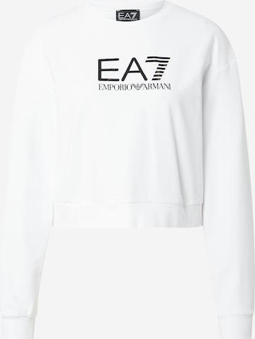 EA7 Emporio Armani Sweatshirt i hvit