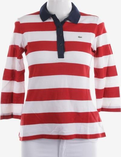 LACOSTE Shirt langarm in L in weiß, Produktansicht