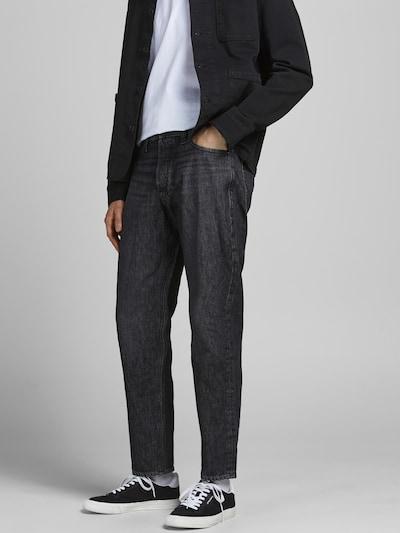 Jeans JACK & JONES pe negru denim, Vizualizare model