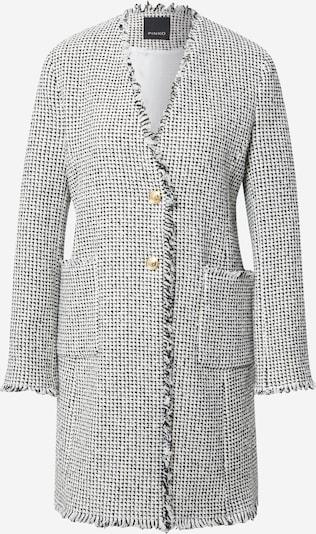 PINKO Abrigo de entretiempo en negro / blanco, Vista del producto