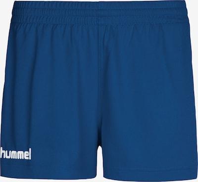 Hummel Sportbroek in de kleur Hemelsblauw / Wit, Productweergave