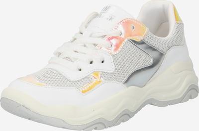 PRIMIGI Sneaker in hellgrau / orange / weiß, Produktansicht