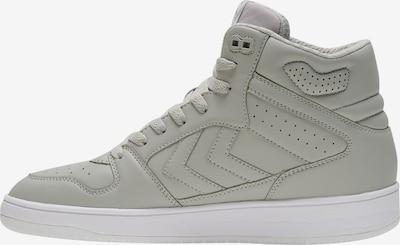 Hummel Sneakers hoog in de kleur Lichtgrijs / Wit, Productweergave