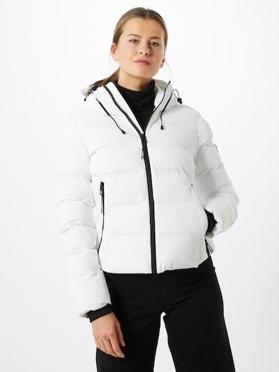 Superdry Prijelazna jakna u bijela: Prednji pogled