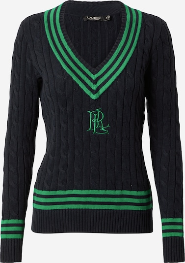 Lauren Ralph Lauren Sweater 'MEREN' in Green / Black, Item view