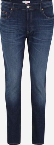 Jean Tommy Jeans Plus en bleu