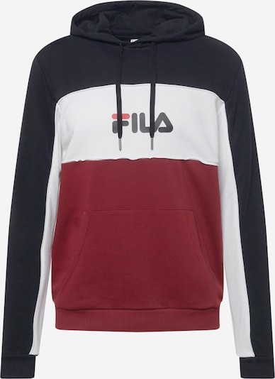 FILA Mikina 'ANALU' - tmavočervená / čierna / biela, Produkt