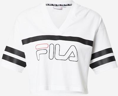 FILA Functioneel shirt 'JAINA' in de kleur Lichtrood / Zwart / Wit, Productweergave