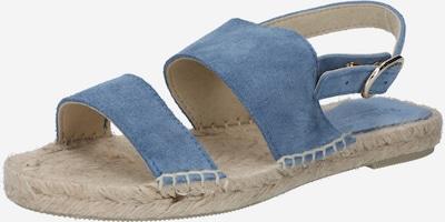 JUTELAUNE Sandale in rauchblau, Produktansicht