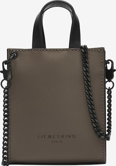 Liebeskind Berlin Handtasche aus Leder im Mini-Format in dunkelbraun, Produktansicht
