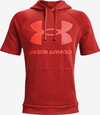 UNDER ARMOUR Sportsweatshirt ' Rival Fleece ' in de kleur Donkeroranje, Productweergave