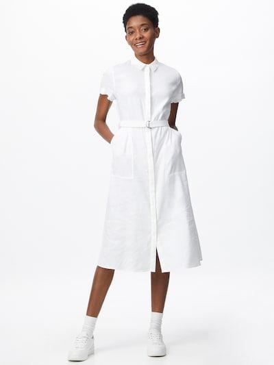 Rochie tip bluză Calvin Klein pe alb, Vizualizare model
