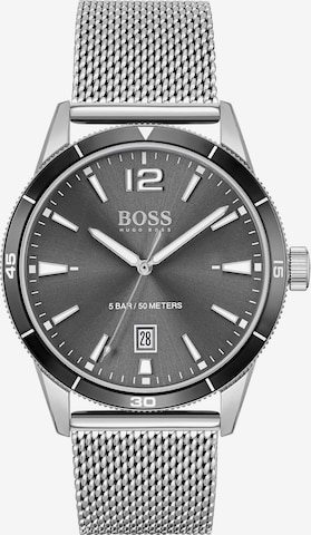 BOSS Casual Uhr in Silber