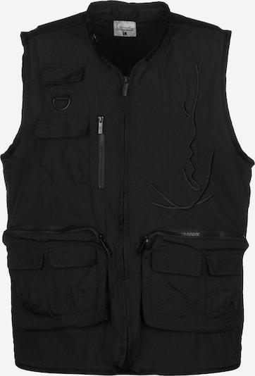 Karl Kani Bodywarmer in de kleur Zwart, Productweergave