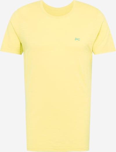 DENHAM T-Shirt 'INGO' in hellgelb / mint, Produktansicht