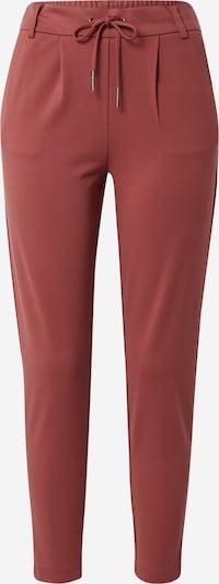 ONLY Pantalon 'Poptrash' en rouge pastel, Vue avec produit