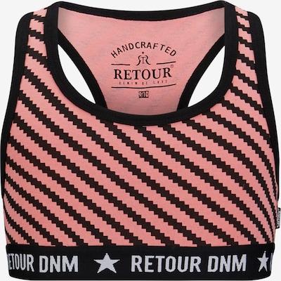 Retour Jeans BH 'Feike' in rosa / schwarz, Produktansicht