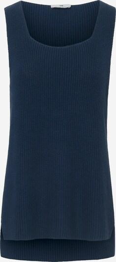 Peter Hahn Kurzarmpullover Ärmelloser Pullover in blau, Produktansicht