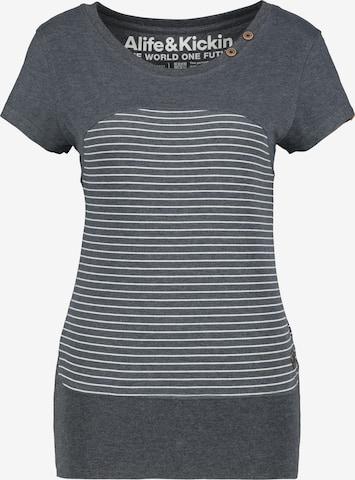 Alife and Kickin Shirt 'Cosma' in Grey