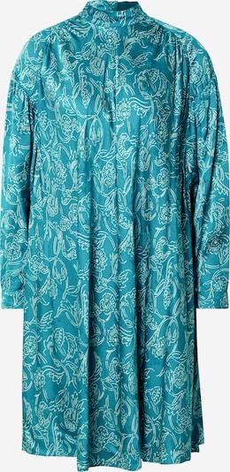 AMERICAN VINTAGE Blousejurk 'Gita 14' in de kleur Blauw, Productweergave