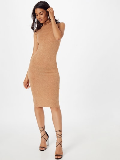 Rochie de cocktail 'EMERY' WAL G. pe maro cămilă, Vizualizare model