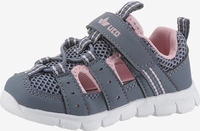 LICO Sandale 'Sorin' in basaltgrau / rosa, Produktansicht