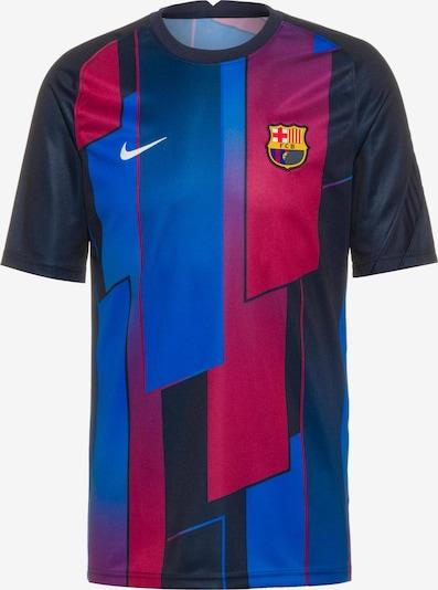 NIKE T-Shirt fonctionnel 'FC Barcelona' en bleu / bleu foncé / framboise / blanc, Vue avec produit
