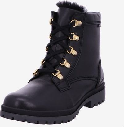 MEPHISTO Lace-Up Ankle Boots in Black, Item view