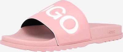 HUGO Pantofle 'Match Slid' - růžová / bílá, Produkt