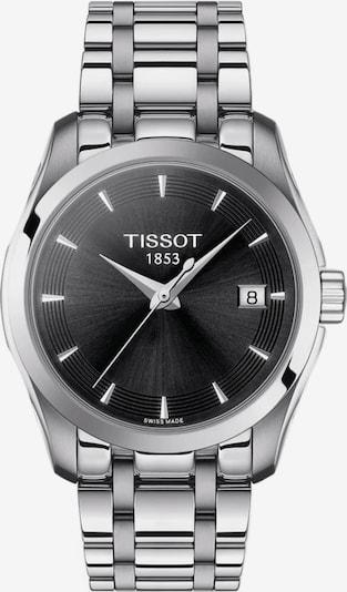 Tissot Uhr in schwarz / silber, Produktansicht