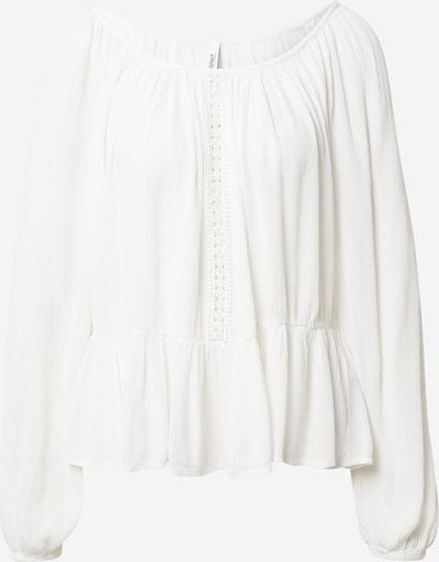 ONLY Блуза 'ALMA' в бяло: Изглед отпред