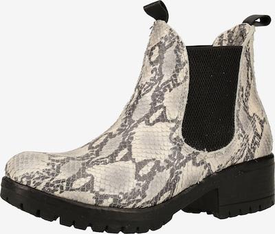 LAZAMANI Chelsea Boots in grau / weiß, Produktansicht