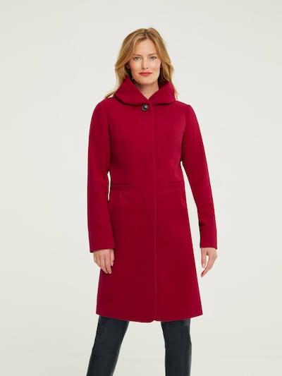 heine Přechodný kabát - červená třešeň, Model/ka