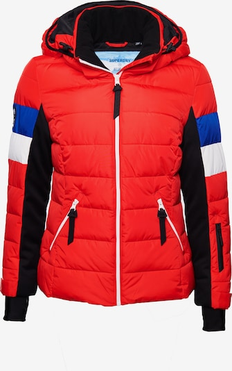 Superdry Snow Steppjacke in himbeer, Produktansicht