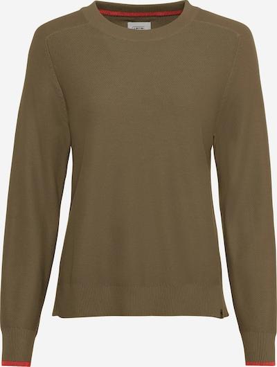 CAMEL ACTIVE Pullover in hellbraun / hellrot, Produktansicht
