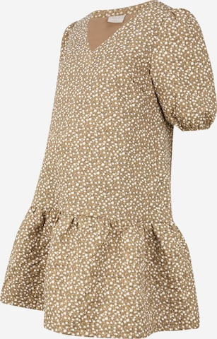 Pieces Maternity Dress in Beige