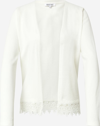 ABOUT YOU Gebreid vest 'Maren' in de kleur Wit, Productweergave