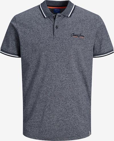 JACK & JONES Poloshirt in navy / koralle / weiß, Produktansicht
