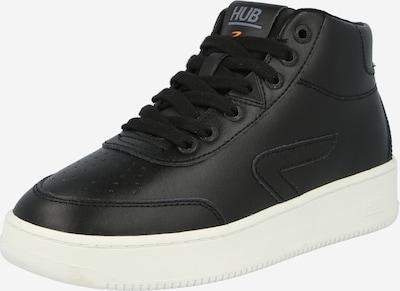 HUB Augstie brīvā laika apavi 'Baseline', krāsa - melns, Preces skats