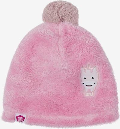 Affenzahn Kindermütze 'Einhorn' in rosa, Produktansicht